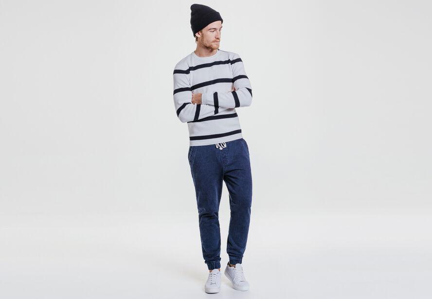 Pantalon jogging en maille