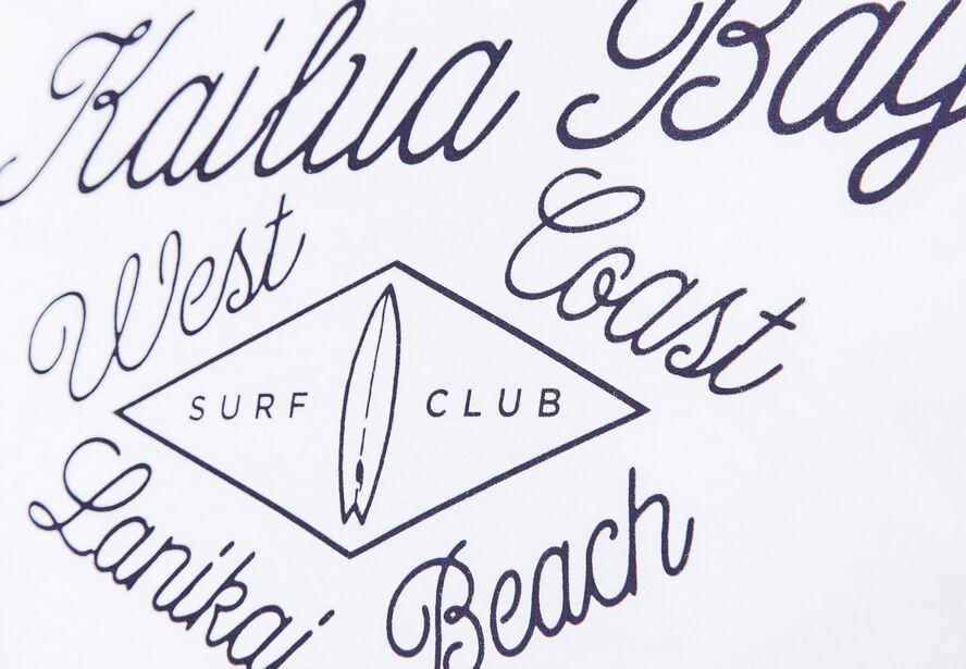 """T-shirt col rond imprimé """"Miami"""""""