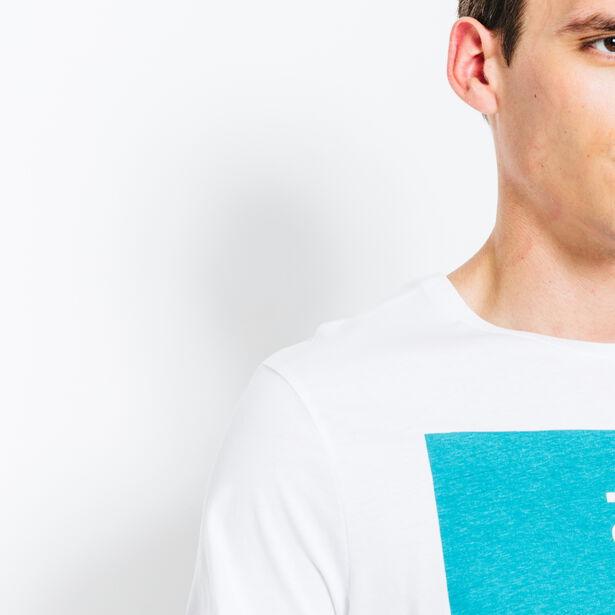 "T-shirt col rond imprimé ""To the next"""