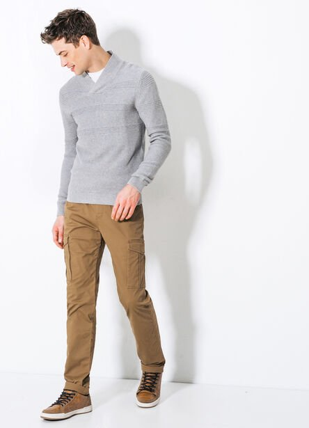 Pantalon slim poches army
