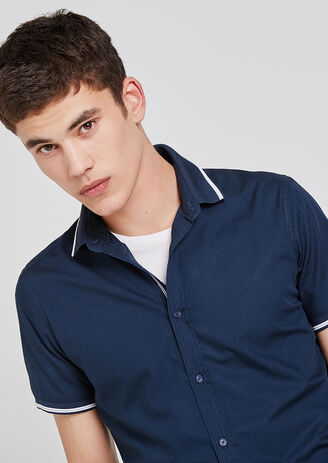 Chemise Manches courtes Col Polo