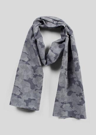 Echarpe à imprimé camouflage