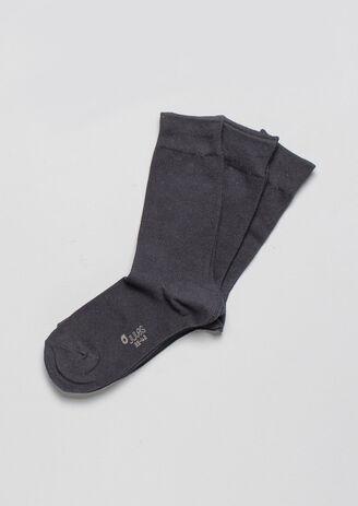 Lot de 3 paires de chaussettes en coton bio