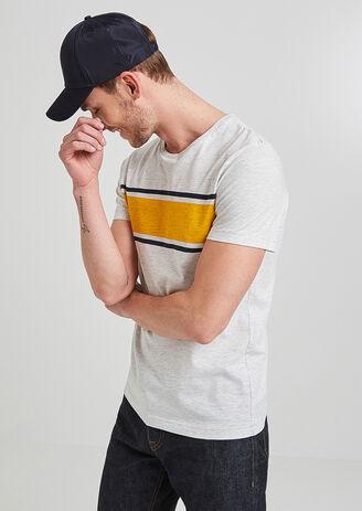 Tee shirt à rayures
