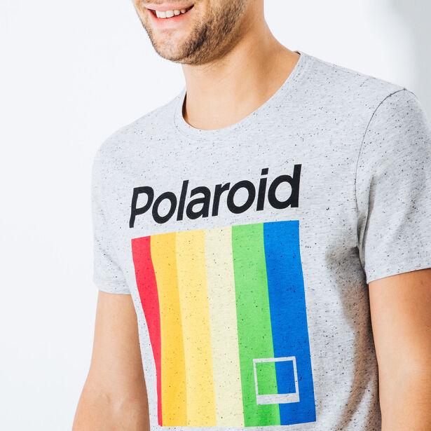 Tee shirt col rond POLAROID