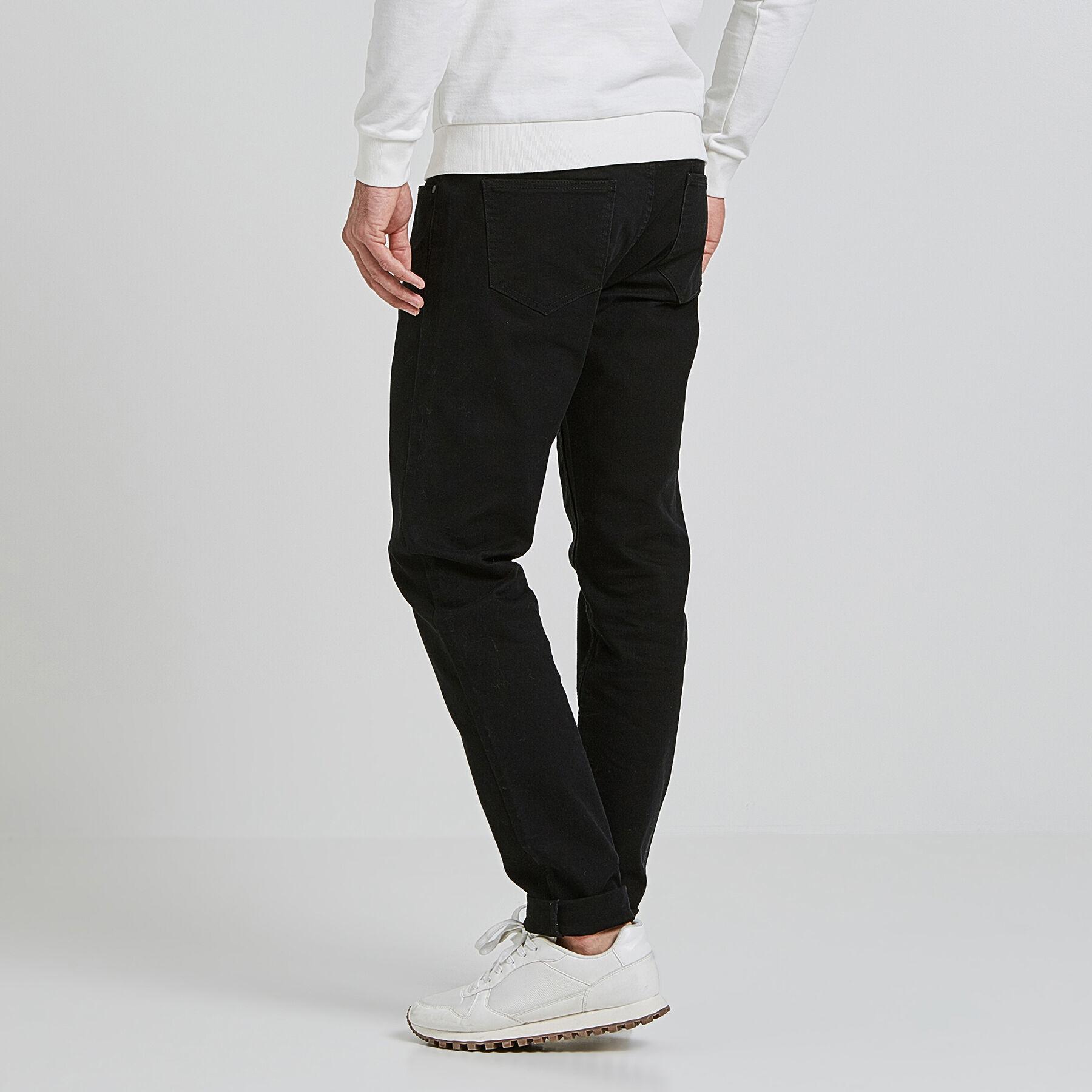 pantalon slim 5 poches noir homme jules. Black Bedroom Furniture Sets. Home Design Ideas