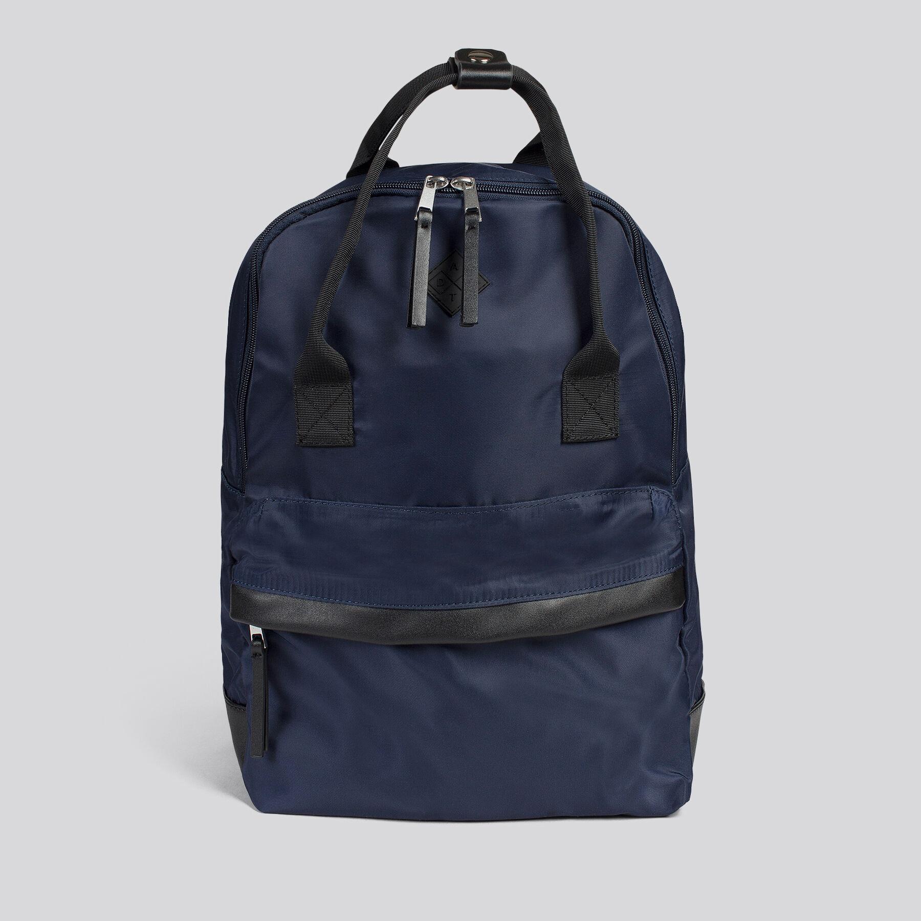 sac dos nylon avec anses bleu marine homme jules. Black Bedroom Furniture Sets. Home Design Ideas