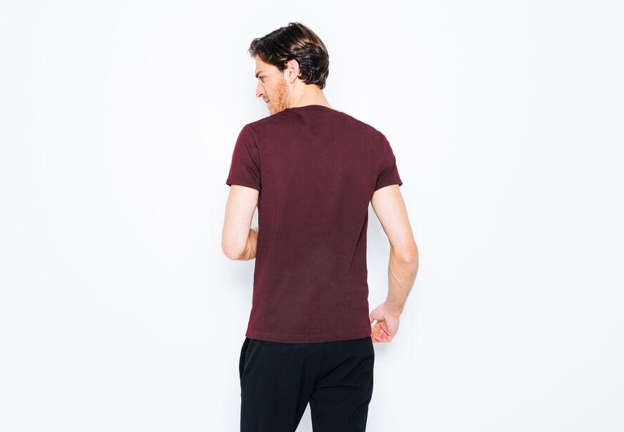 T-shirt col rond Crazy