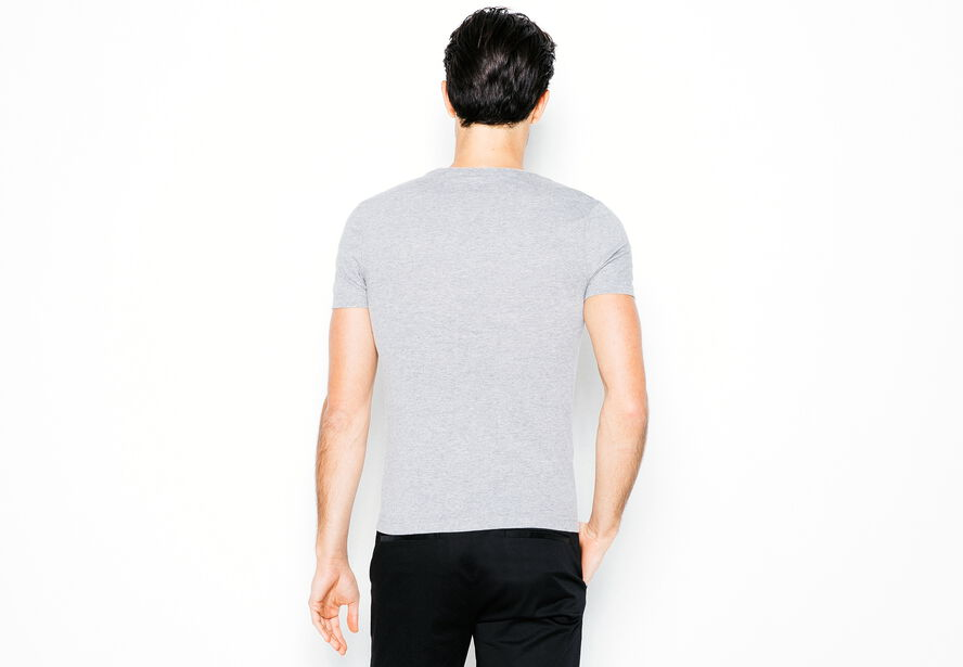 T-shirt col rond Eclectick