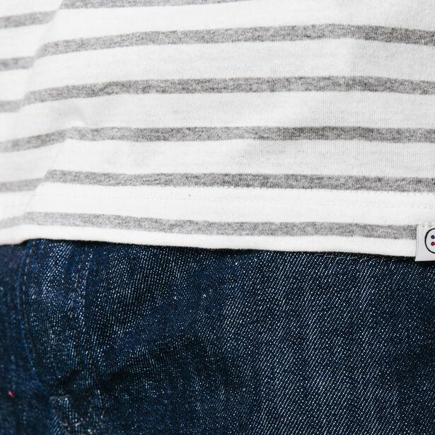 T-shirt col rond rayé Fabrication Française