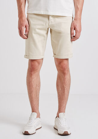 Bermuda 5 poches à couleurs