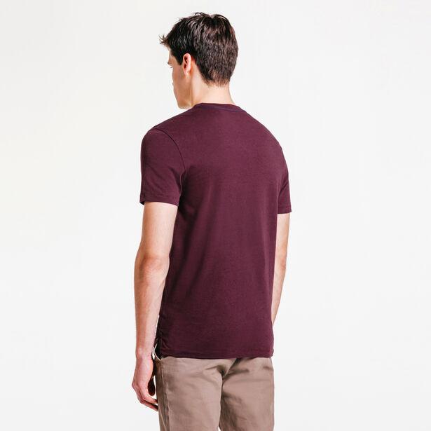 Tee shirt flock velours