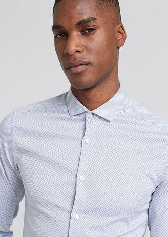 Chemise Extra-Slim à Pois