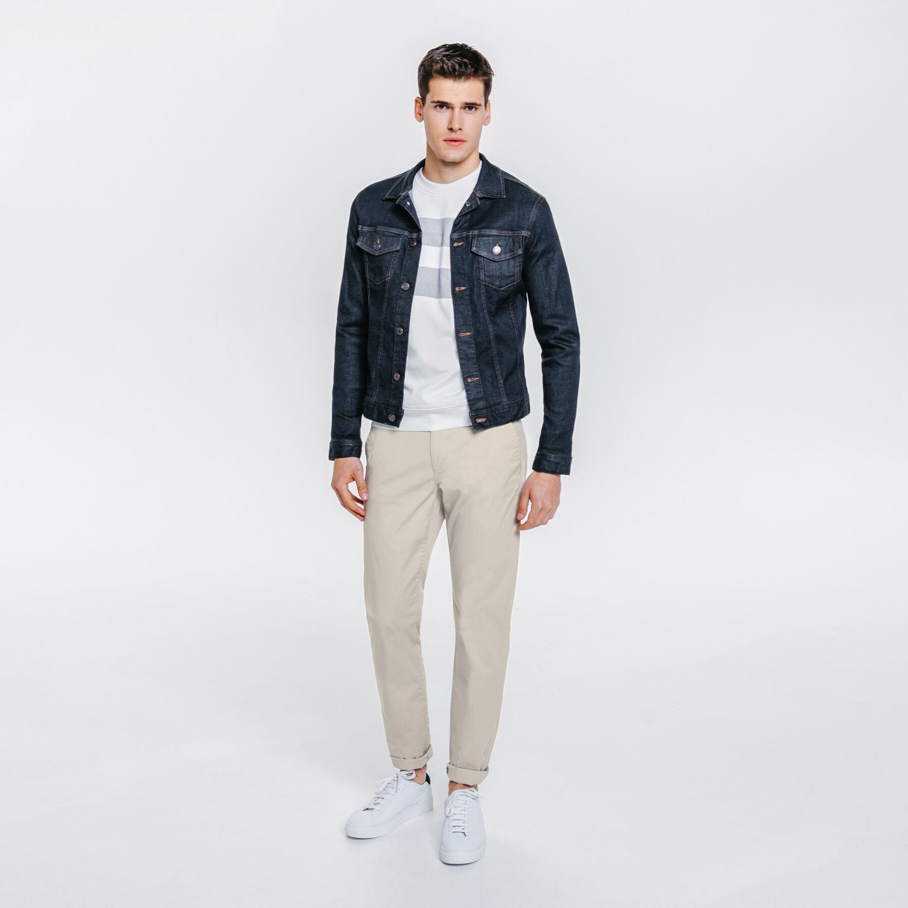 pantalon chino slim coton stretch mastic homme jules. Black Bedroom Furniture Sets. Home Design Ideas