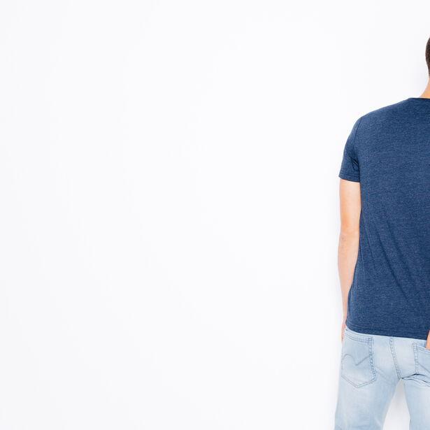 T-shirt col rond Mr Heureux