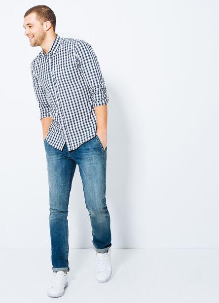 Jean slim forme chino