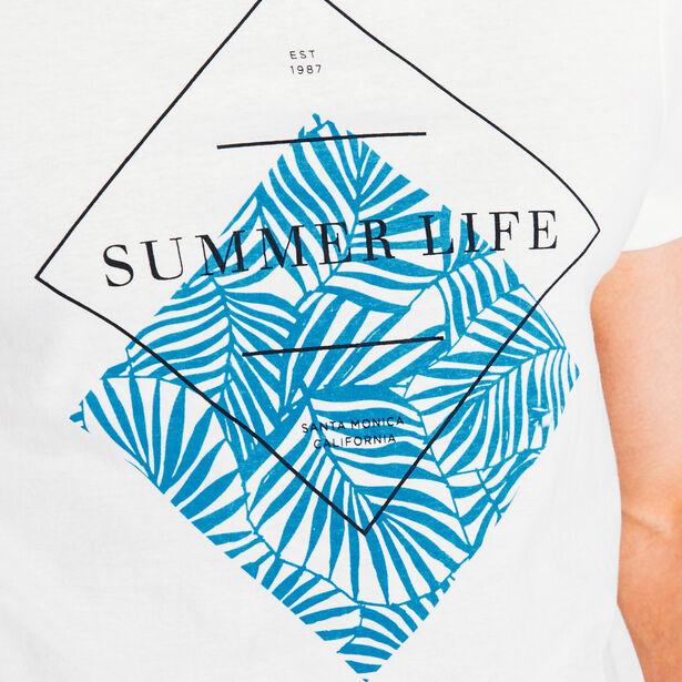 Tee shirt imprimé Summer Life