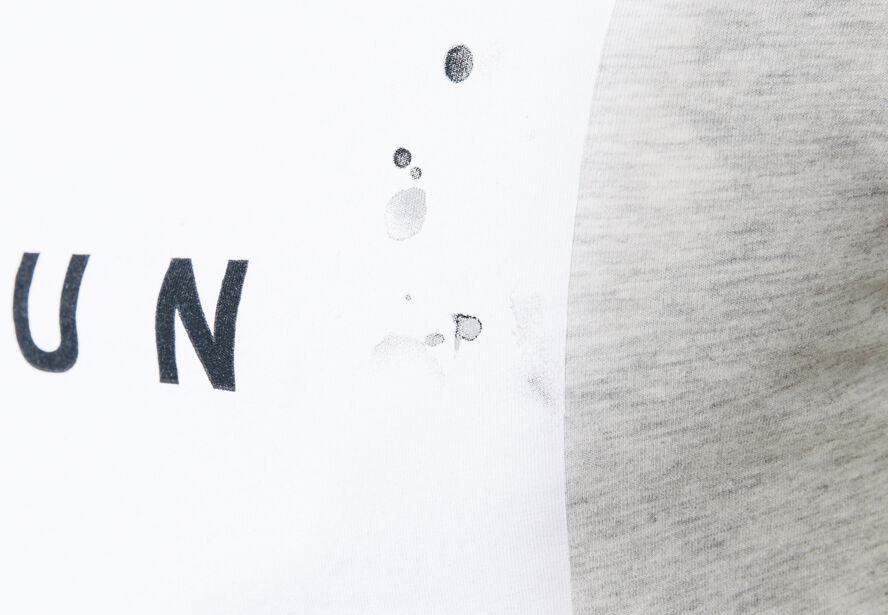 "T-shirt col rond imprimé ""Fun"""