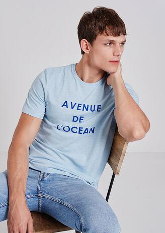 Tee-shirt Avenue de l'ocean Bio La Gentle Factory