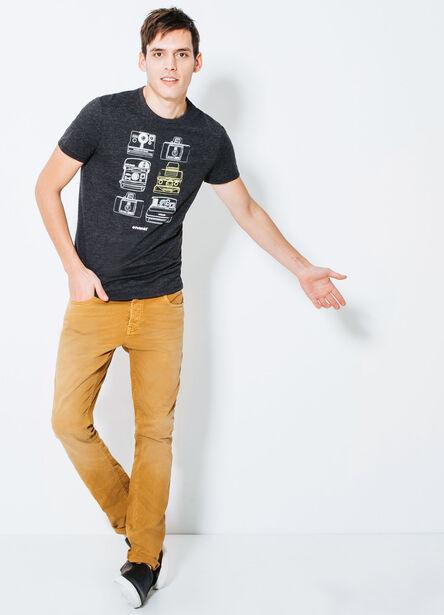 T-shirt col rond POLAROID