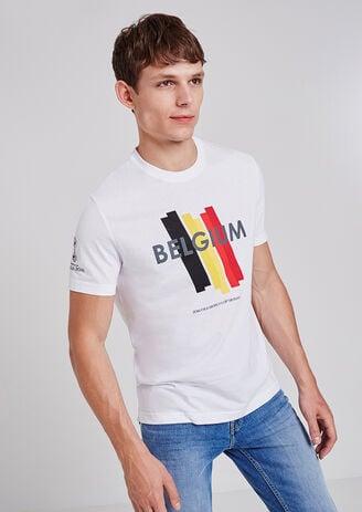 Tee shirt Belgique 2018 FIFA