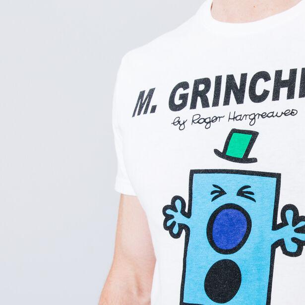 T-shirt col rond imprimé Mr Grincheux