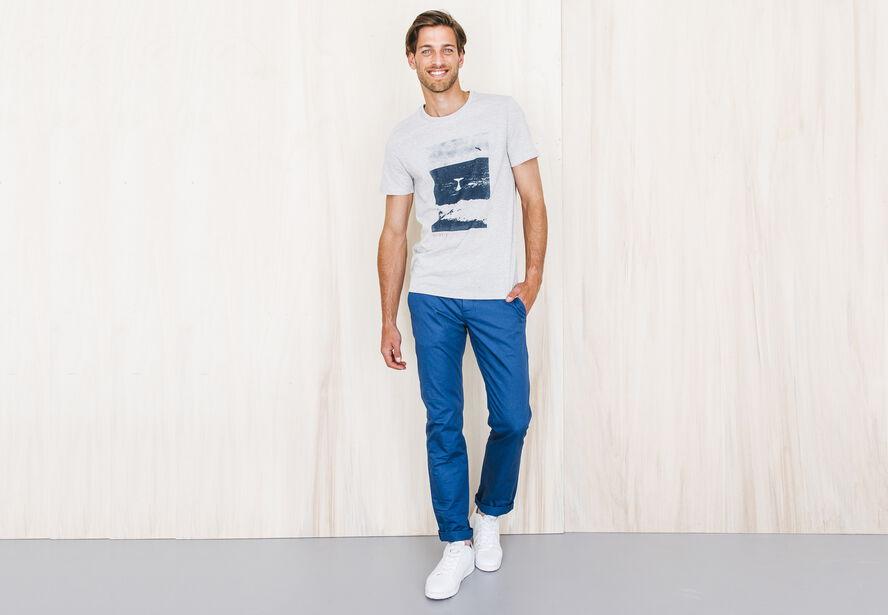 T-shirt imprimé Fabrication Française