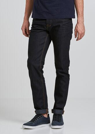 Jeans straight brut