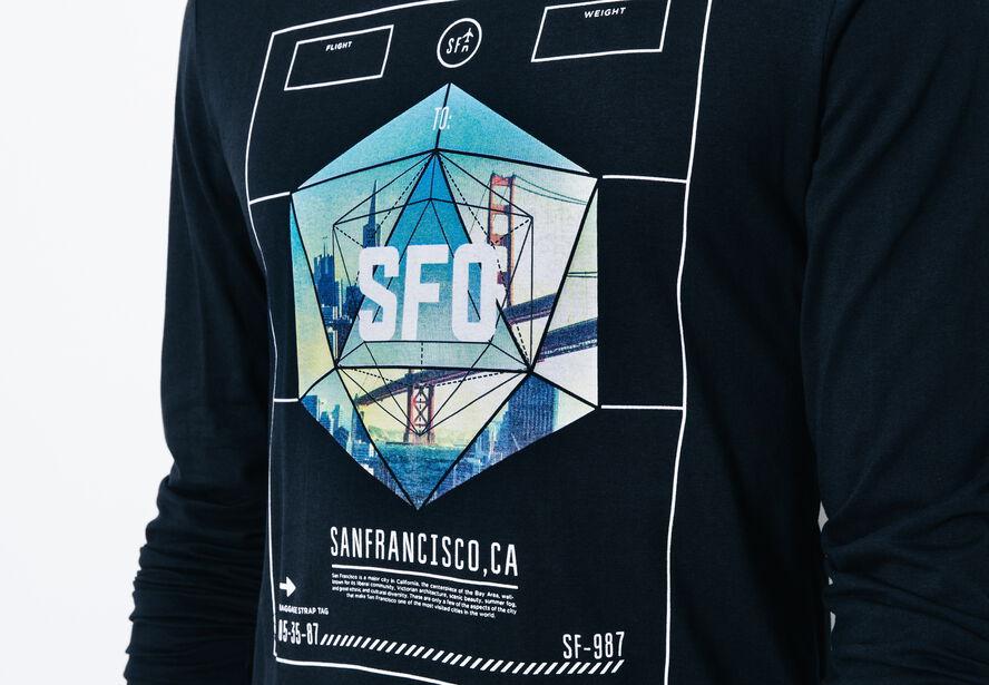 T-shirt col rond San Francisco