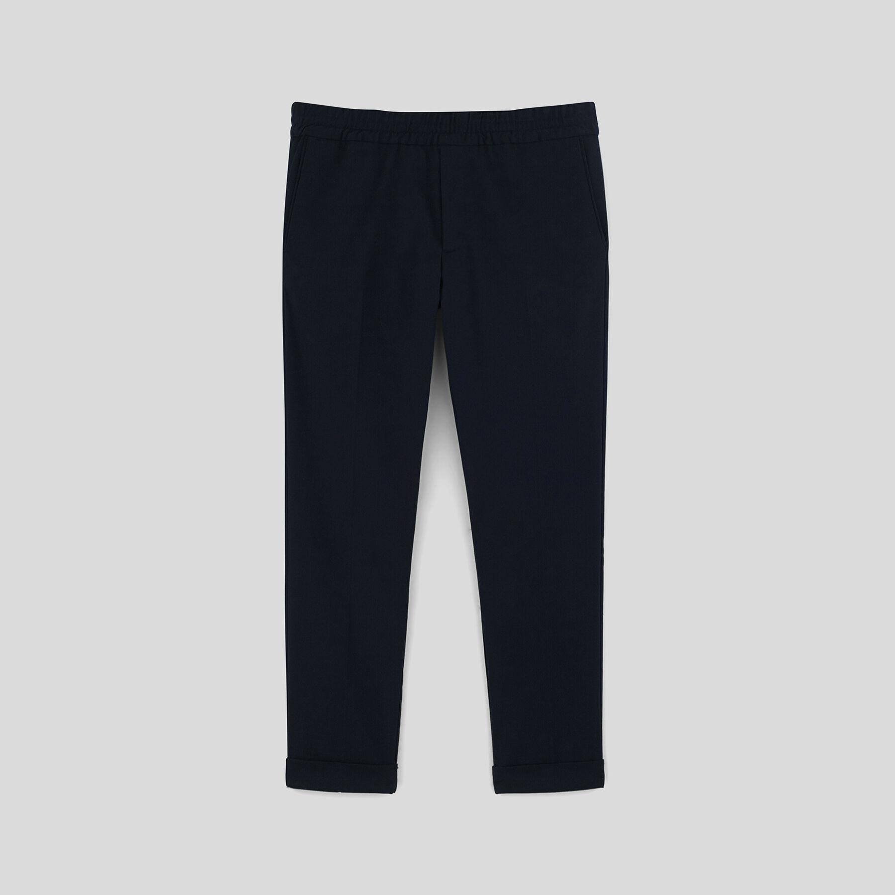 pantalon taille lastiqu bleu marine homme jules. Black Bedroom Furniture Sets. Home Design Ideas
