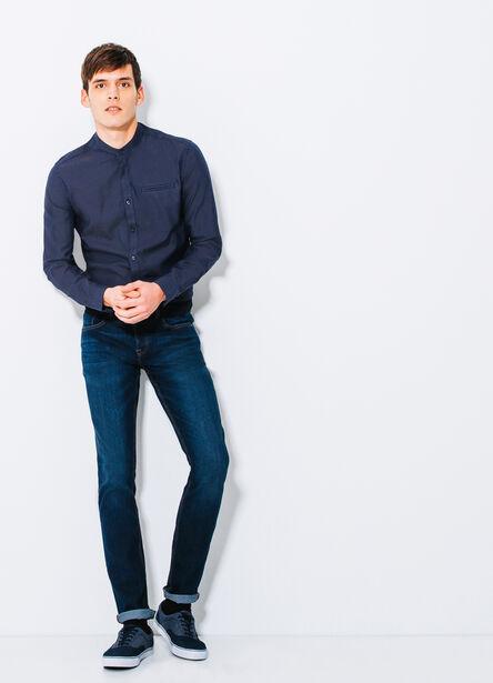 Jean slim rinse