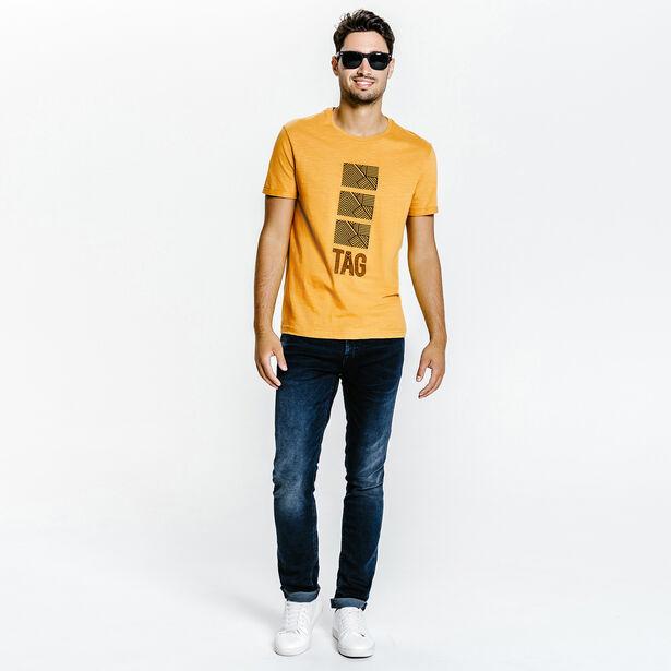 Tee shirt col rond Tag