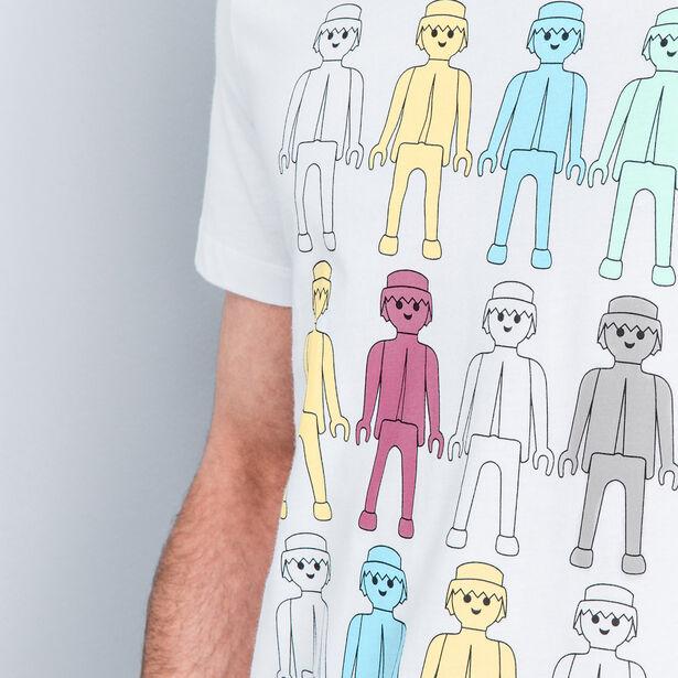 T-shirt col rond Playmobil