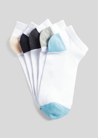 Lot de 5 paires de chaussettes tiges basses
