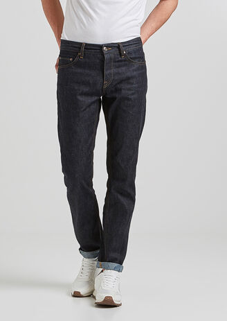 Jean straight brut selvedge
