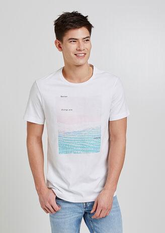 Tee shirt photoprint mer