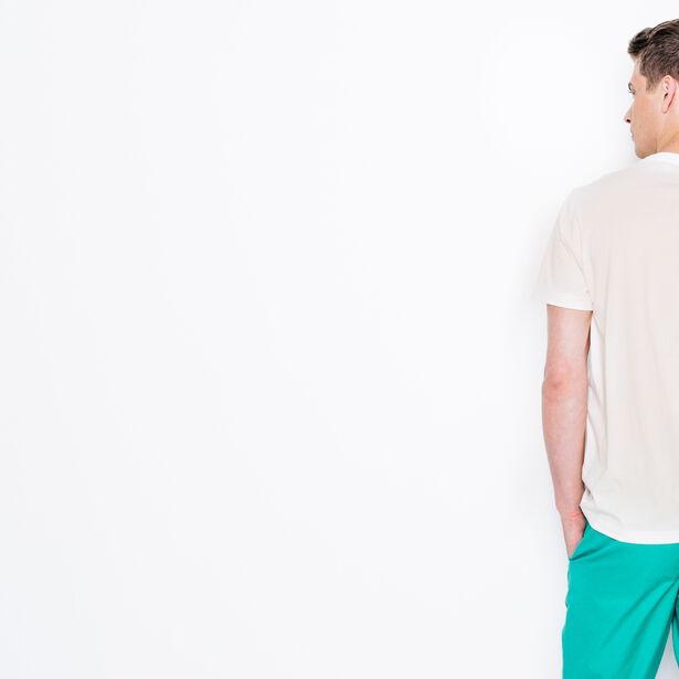 """T-shirt col rond imprimé """"Life is a long trip"""""""