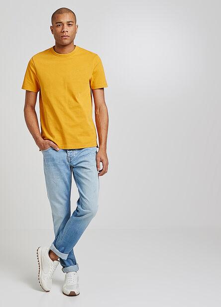 Tee shirt brodé Yellow