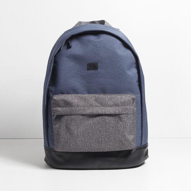 sac dos bicolore bleu fantaisie homme jules. Black Bedroom Furniture Sets. Home Design Ideas