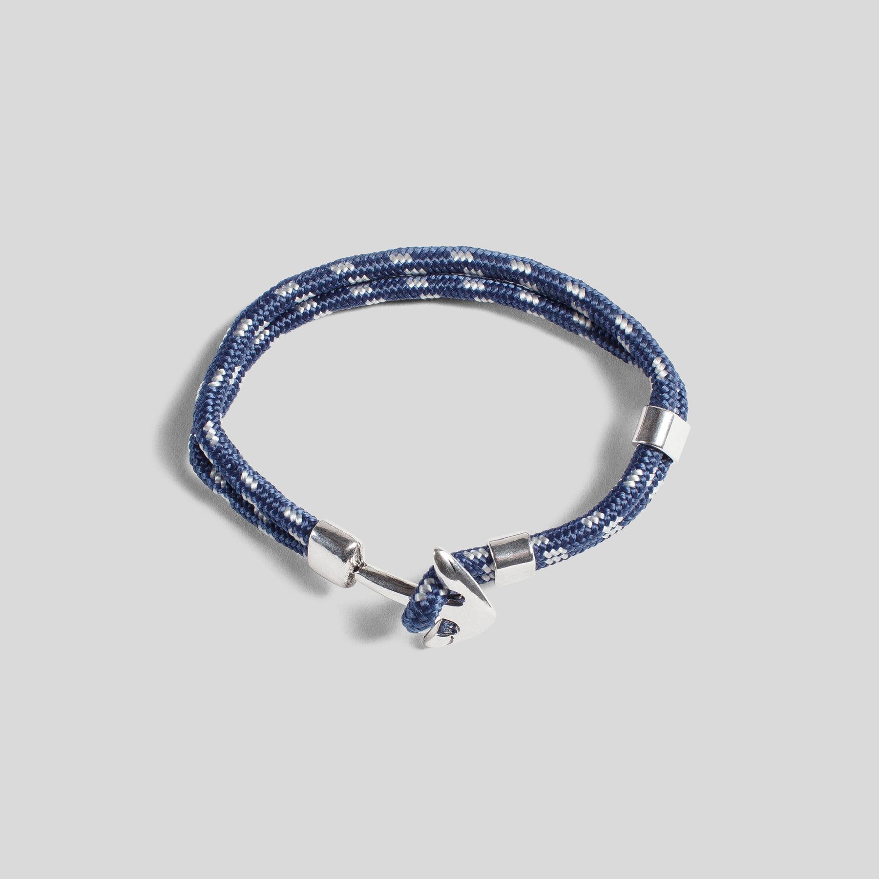 bracelet ancre bleu marine fantaisie homme jules. Black Bedroom Furniture Sets. Home Design Ideas