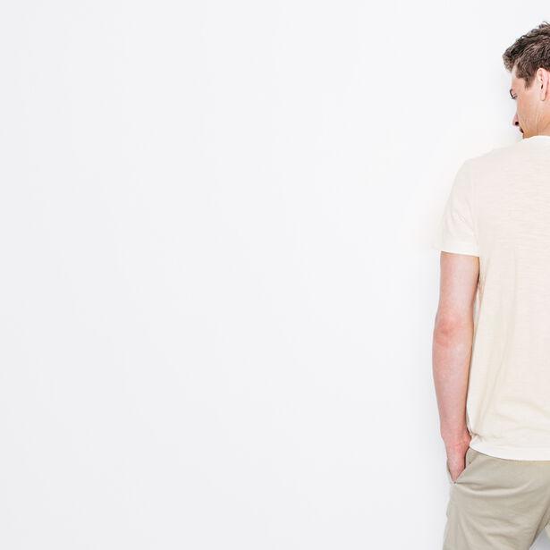 T-shirt col rond imprimé W