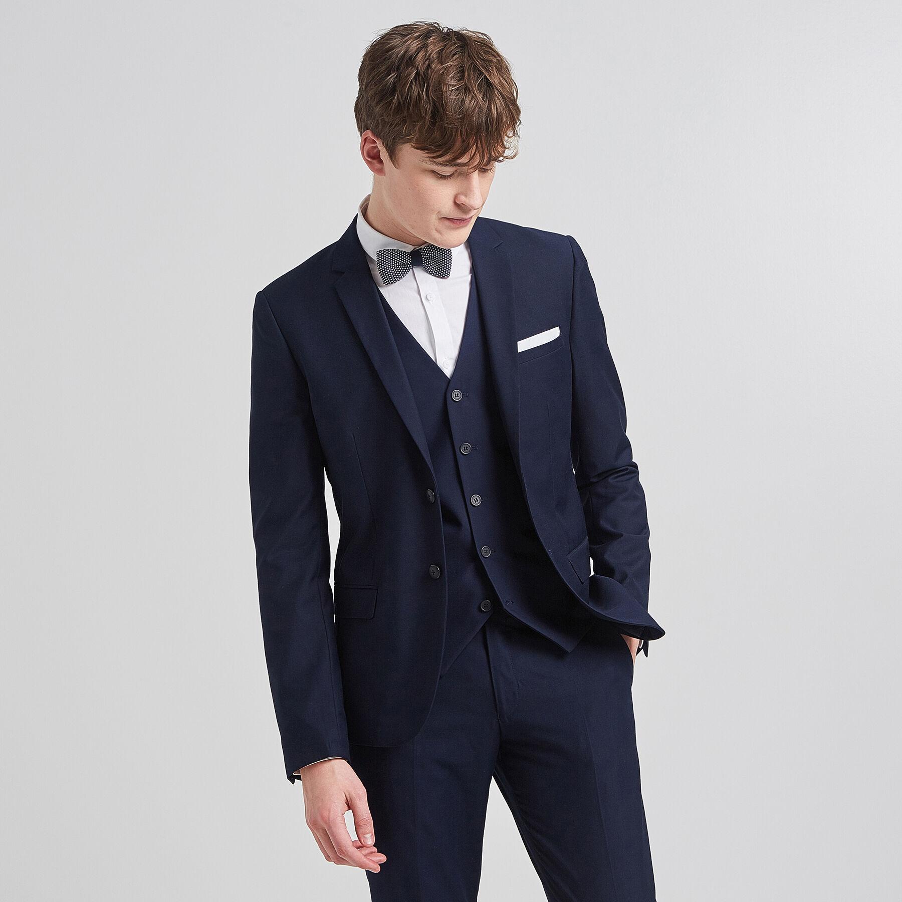 Veste classe homme bleu marine