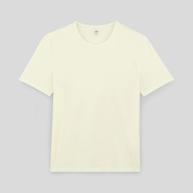 Tee shirt mercerisé