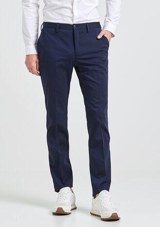 Pantalon de costume slim laine