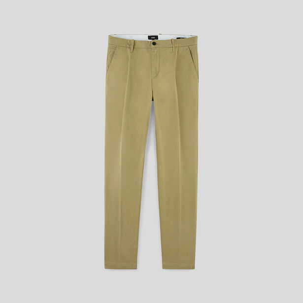 Chino Slim doubles pinces