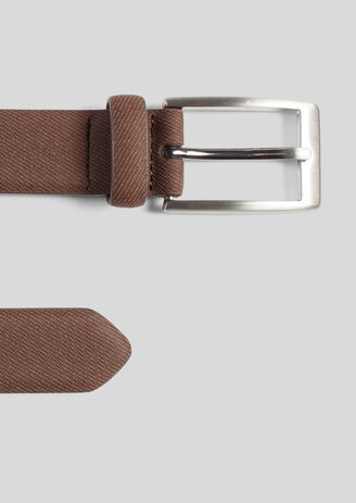 Ceinture aspect denim