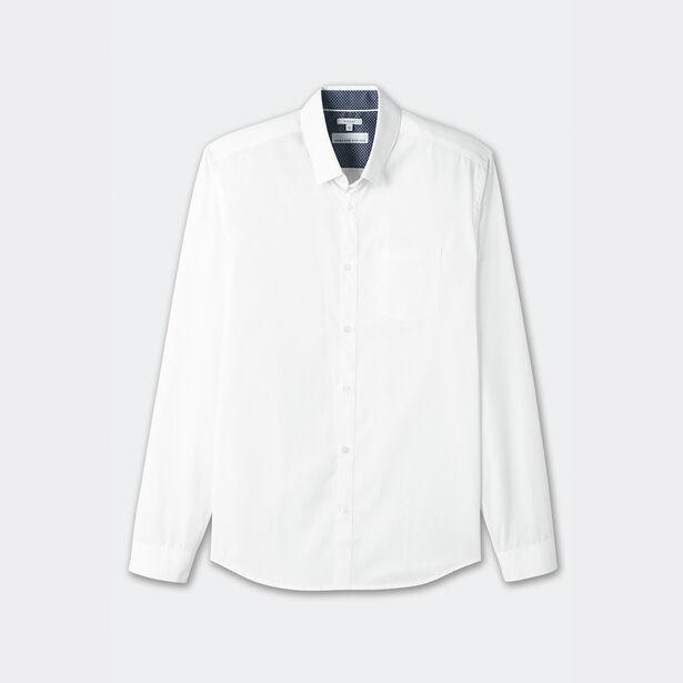 chemise regular repassage facile blanc homme jules. Black Bedroom Furniture Sets. Home Design Ideas