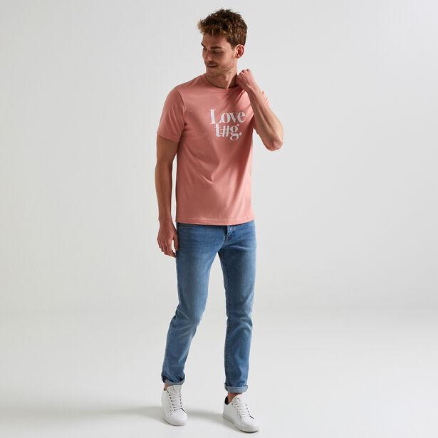 Tee shirt message Love t#g mixte