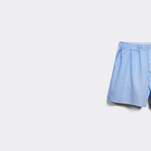 cale on coton homme fantaisie lot de 3 bleu clair homme. Black Bedroom Furniture Sets. Home Design Ideas