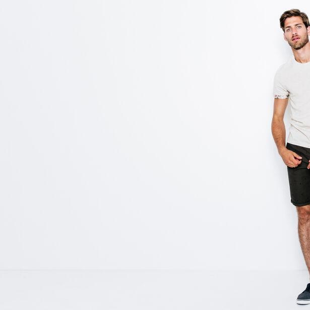 T-shirt poche imprimé